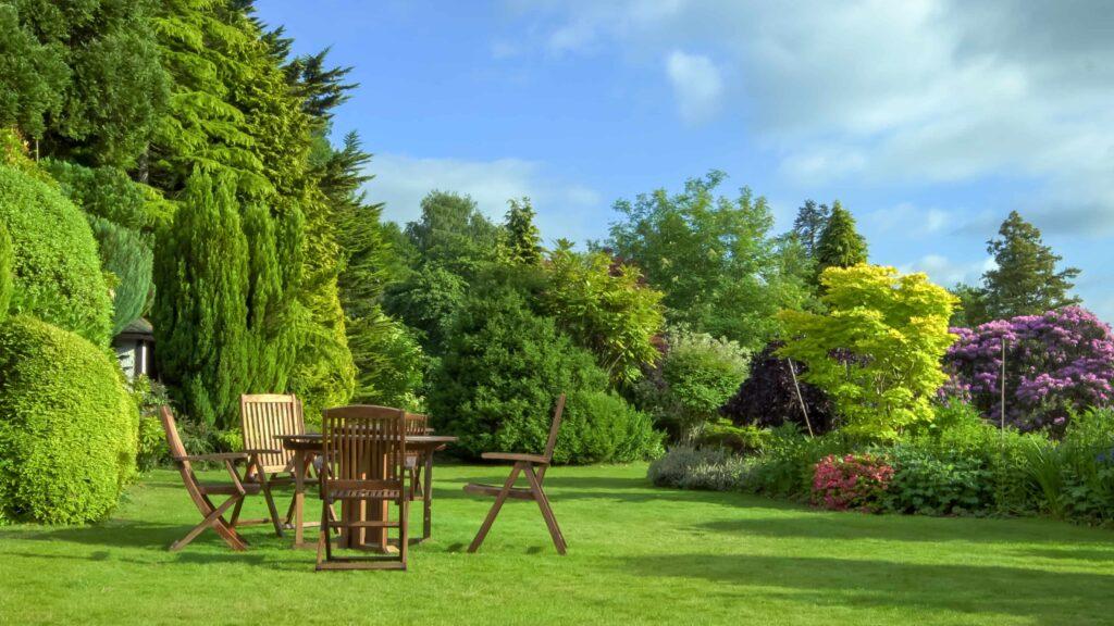 English,Garden,In,June